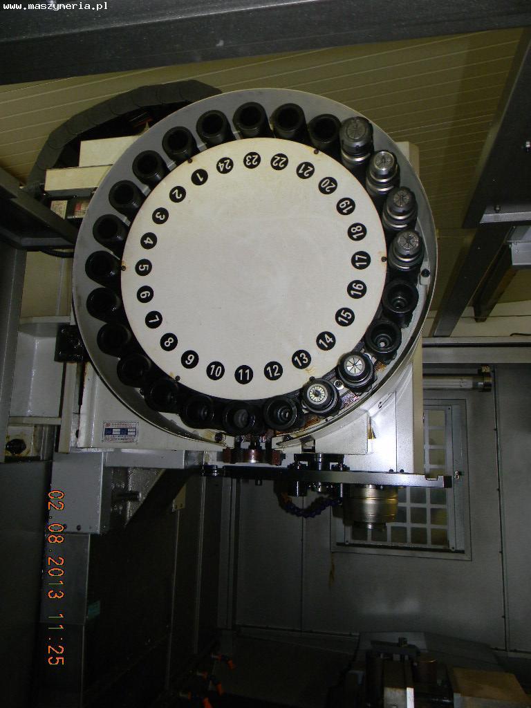 Magazyn narzędzi - CENTRUM FREZERSKIE BAOMA VMC-1060